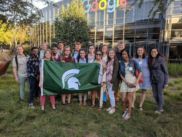Students Learn About Accessibility in Silicon Valley