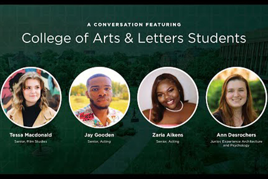 Conversations with CAL Student Panel